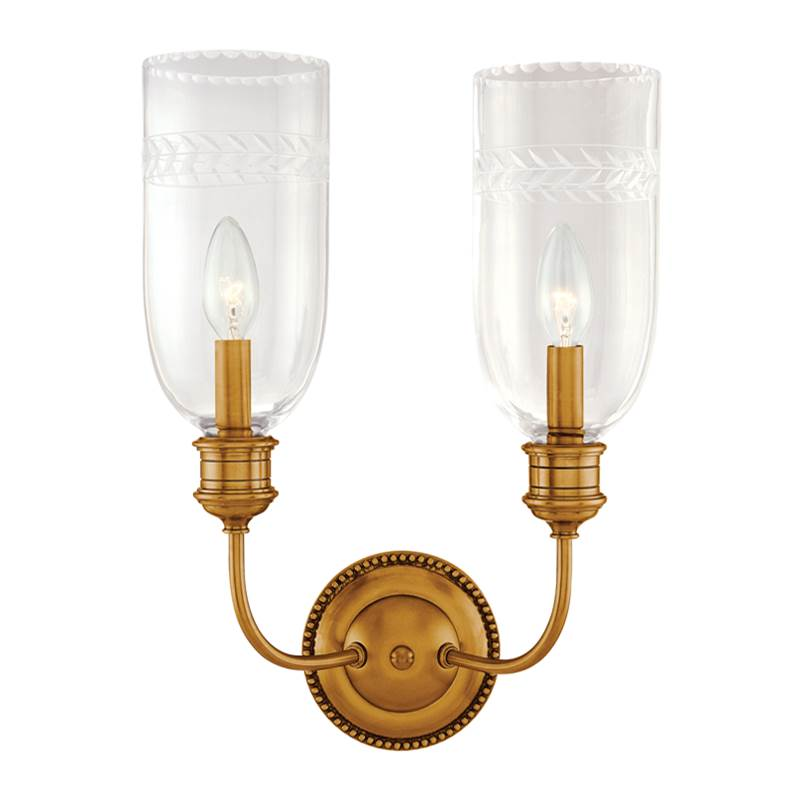 Hudson Valley Lighting Sconce Wall Lights item 292-AGB