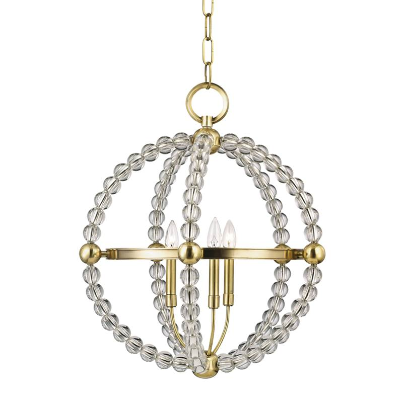 Hudson Valley Lighting Cage Pendants Pendant Lighting item 3120-AGB