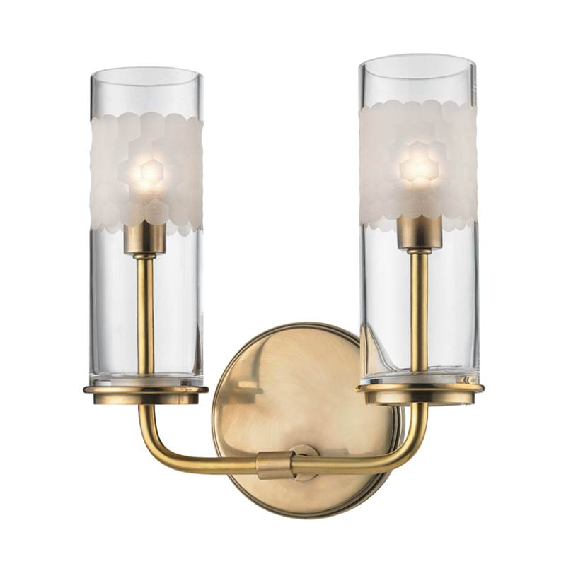 Hudson Valley Lighting Sconce Wall Lights item 3902-AGB