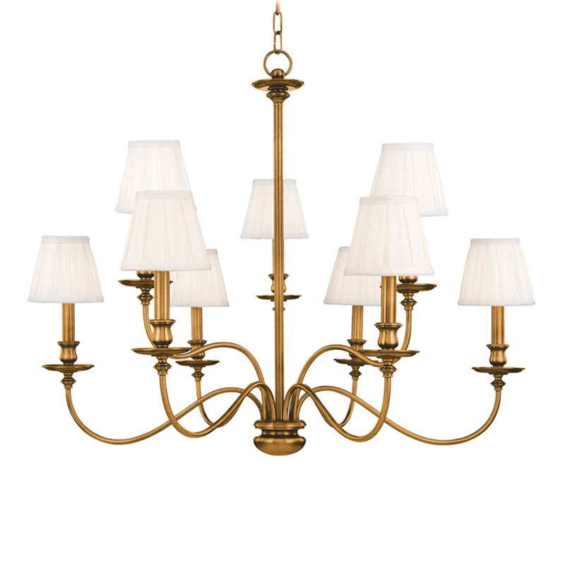 Hudson Valley Lighting Multi Tier Chandeliers item 4039-AGB