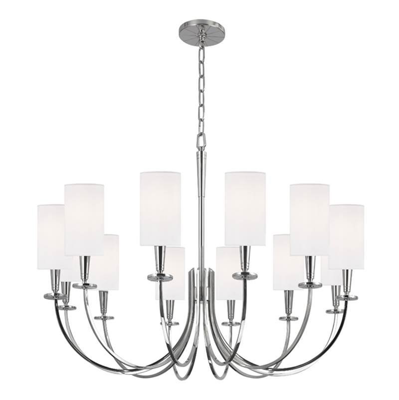 Hudson Valley Lighting Single Tier Chandeliers item 8032-PN