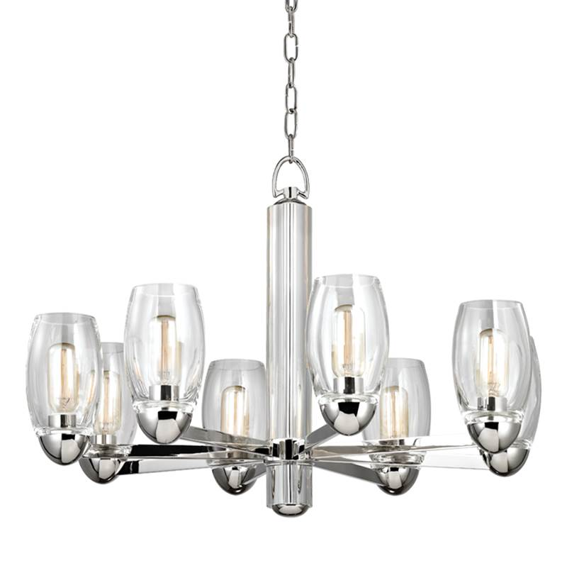 Hudson Valley Lighting Single Tier Chandeliers item 8848-PN