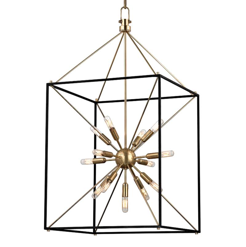 Hudson Valley Lighting Cage Pendants Pendant Lighting item 8920-AGB