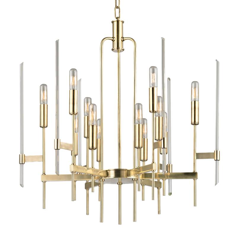 Hudson Valley Lighting Multi Tier Chandeliers item 9912-AGB