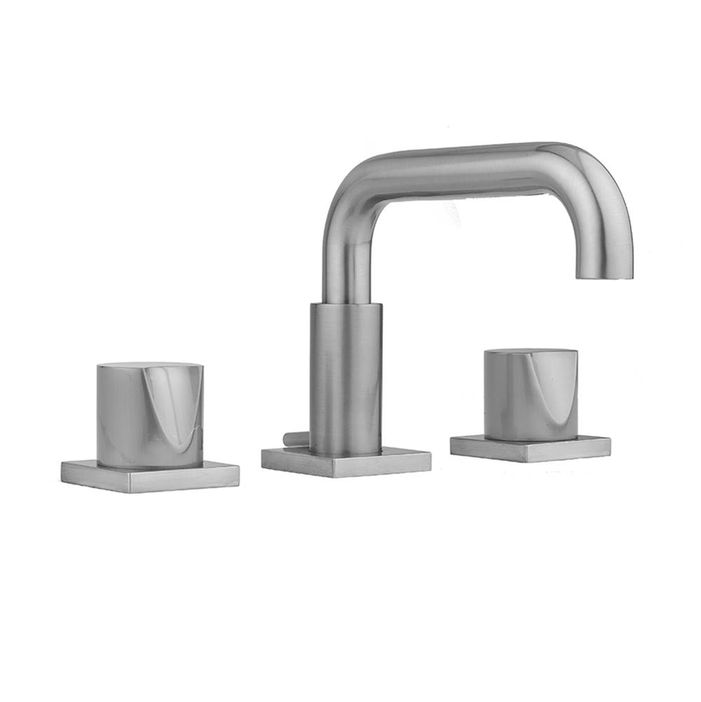 Jaclo Widespread Bathroom Sink Faucets item 8883-TSQ672-1.2-BKN
