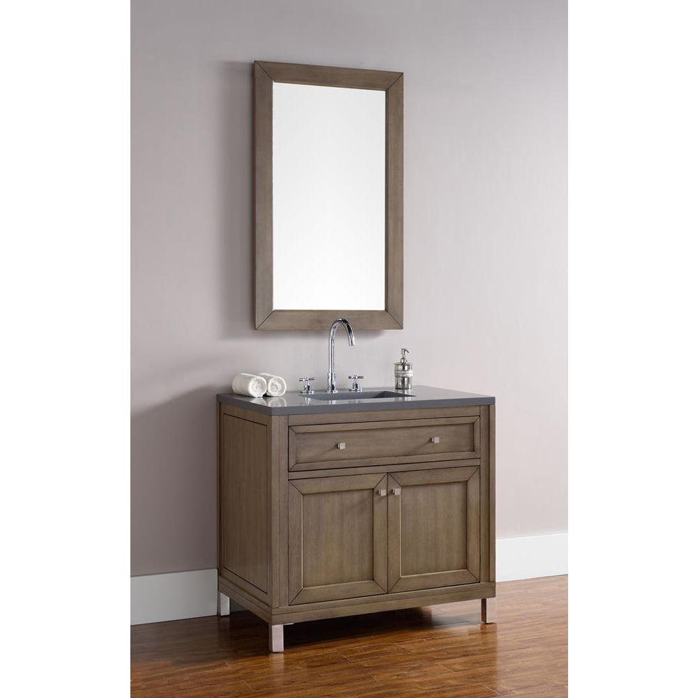 James Martin Furniture Floor Mount Vanities item 305-V36-WWW-3SHG