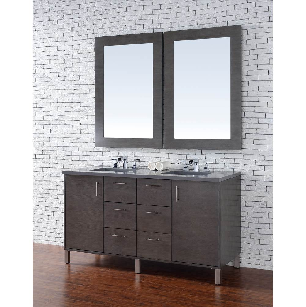 James Martin Furniture Floor Mount Vanities item 850-V60D-SOK-3SHG