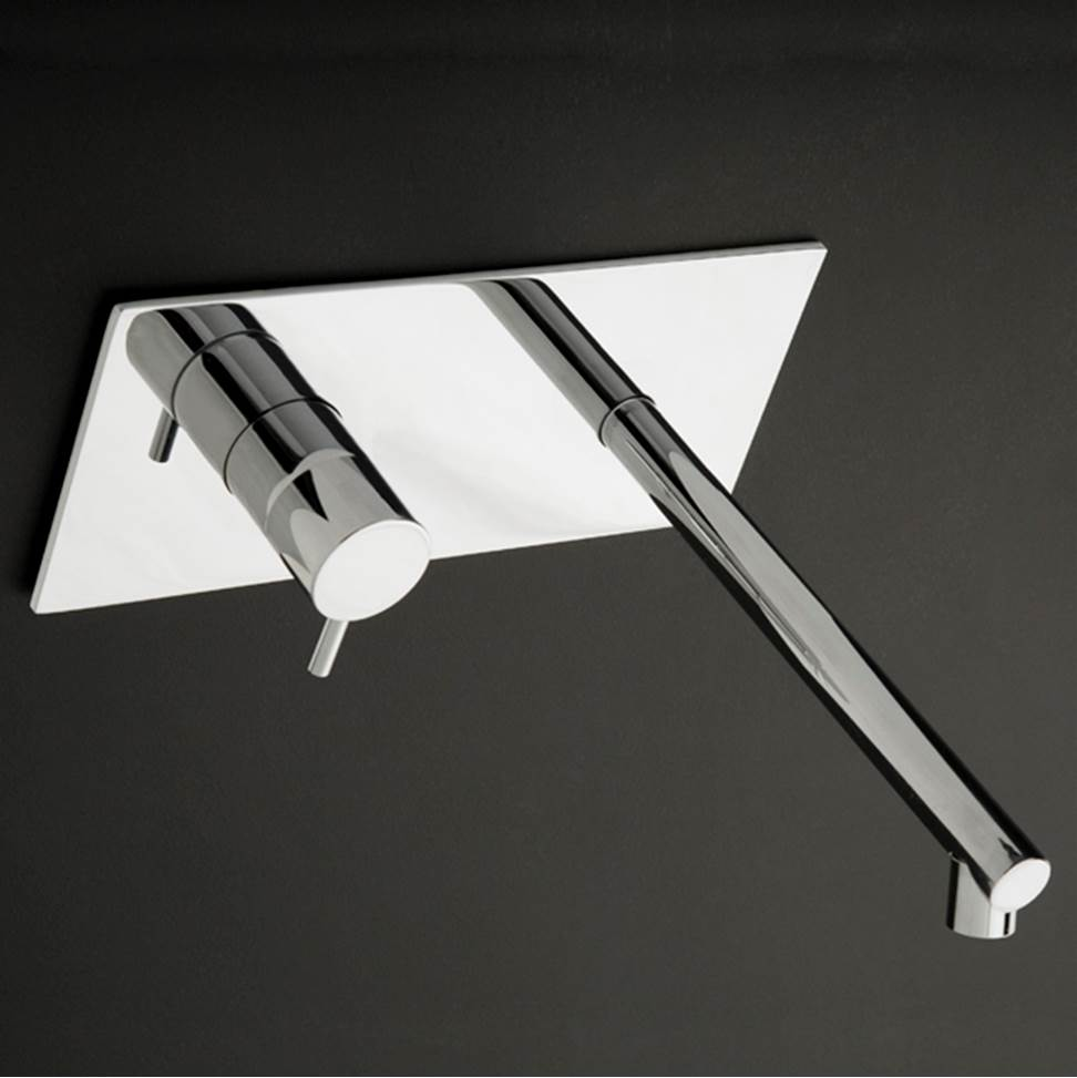 Lacava Wall Mounted Bathroom Sink Faucets item 0114DX-CR