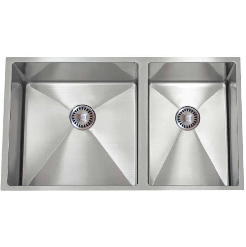 Lenova Undermount Kitchen Sinks item SS-12Ri D1