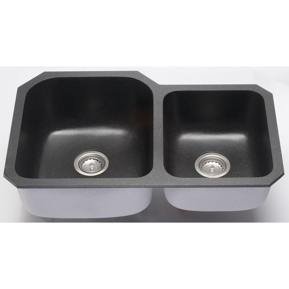 Lenova Undermount Kitchen Sinks item NG-03BK