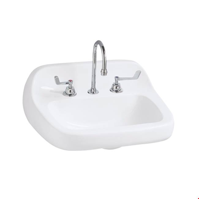 Mansfield Plumbing Wall Mount Bathroom Sinks item 201810001