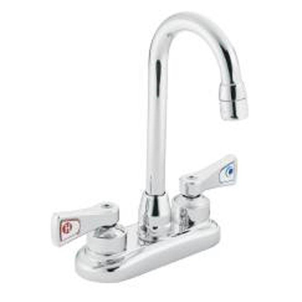 Faucets Laundry Sink Faucets Simons Supply Co Inc FallRiver - Moen commercial bathroom faucets