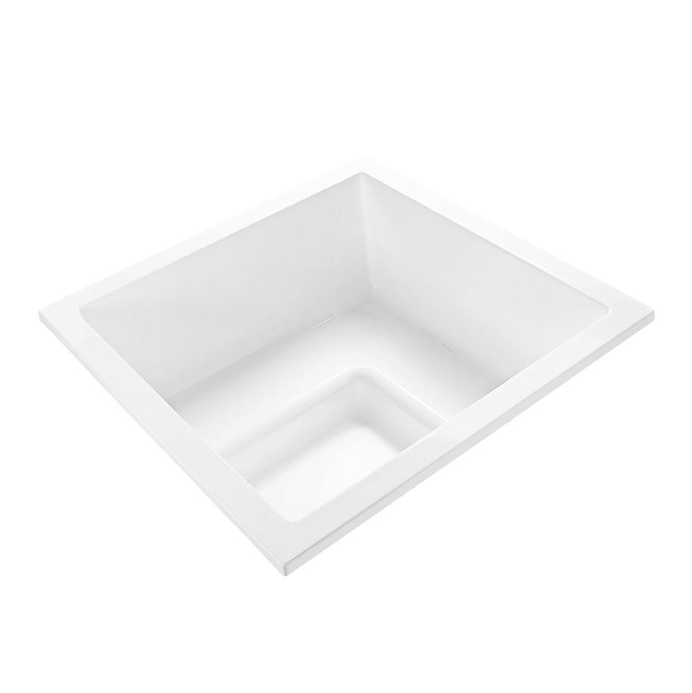 MTI Baths Drop In Air Bathtubs item AE132-WH-DI