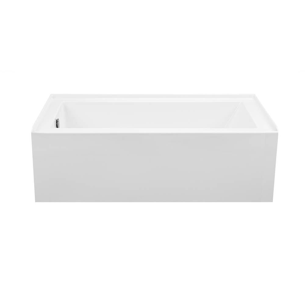 MTI Baths Three Wall Alcove Whirlpool Bathtubs item P153U-BI-LH