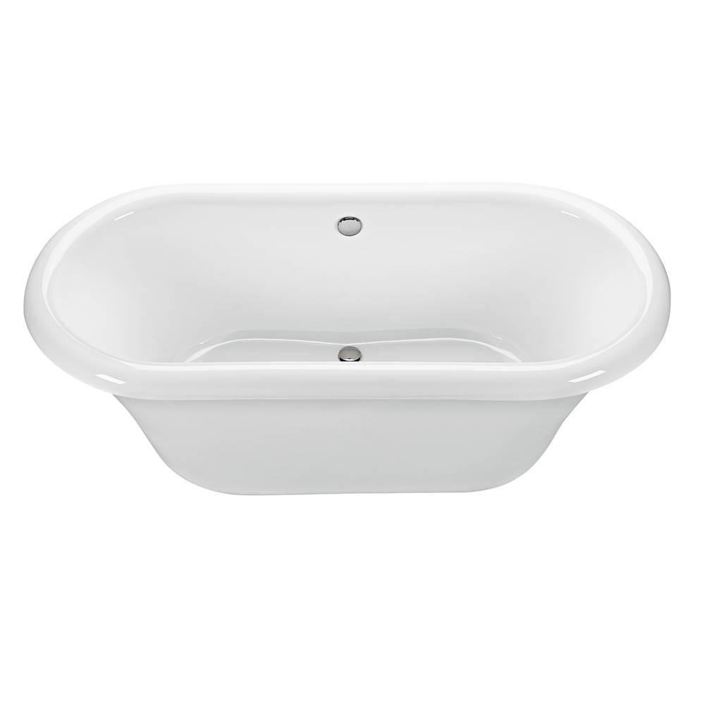 MTI Baths Free Standing Air Bathtubs item AE74+BASE74-AL