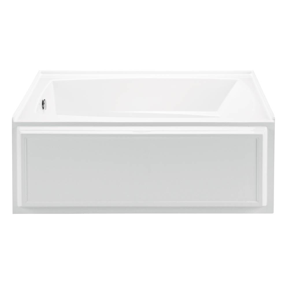 MTI Baths Three Wall Alcove Air Whirlpool Combo item AW80-WH-LH