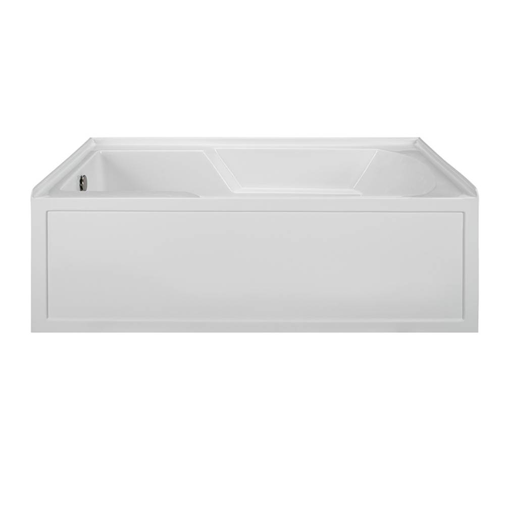 MTI Baths Three Wall Alcove Soaking Tubs item MBSIS6036-WH-LH