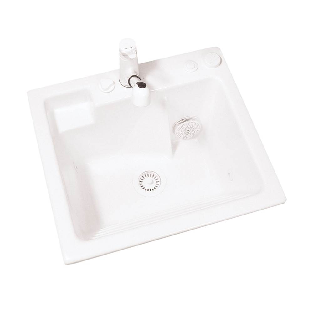 MTI Baths Drop In Laundry And Utility Sinks item MTLS110J-WH