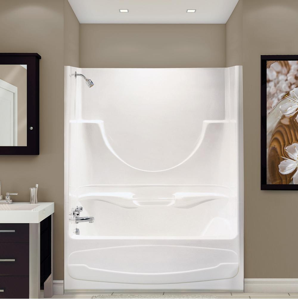 Maax Three Wall Alcove Whirlpool Bathtubs item 100886-SR-003-007
