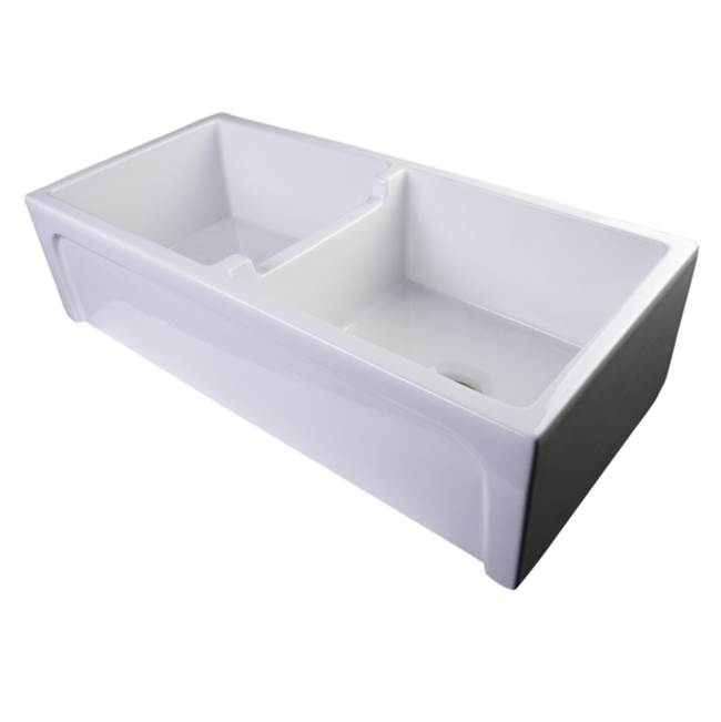 Nantucket Sinks Undermount Kitchen Sinks item Chatham-39-DBL
