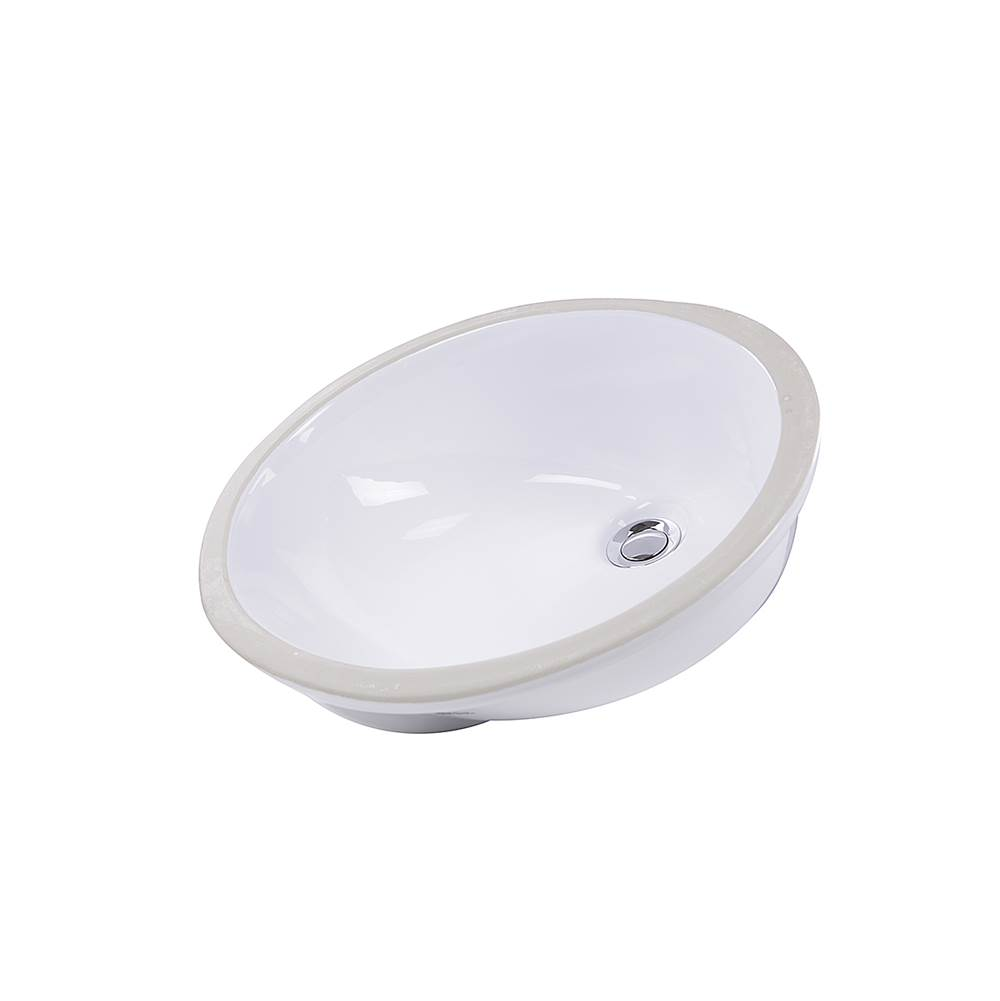 Nantucket Sinks Undermount Bathroom Sinks item GB-15x12-W