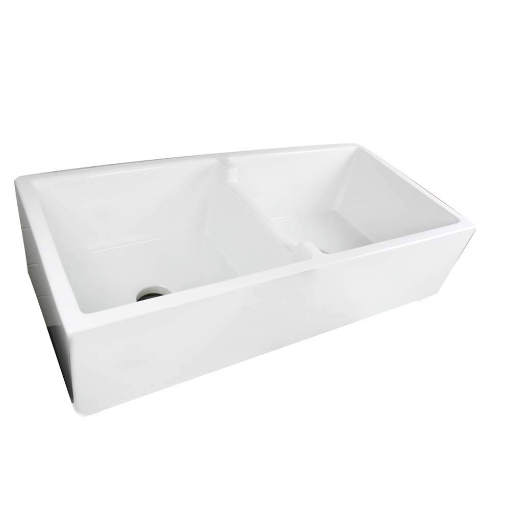 Nantucket Sinks Undermount Kitchen Sinks item Hyannis-39-DBL