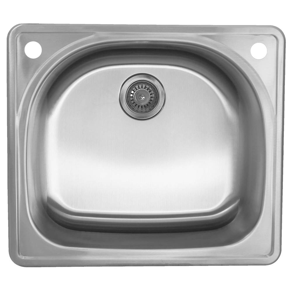 Nantucket Sinks Drop In Kitchen Sinks item NS2522-D