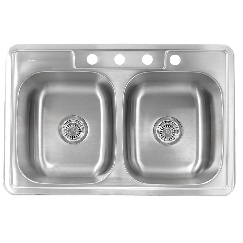 Nantucket Sinks Drop In Kitchen Sinks item NS3322-20-DE