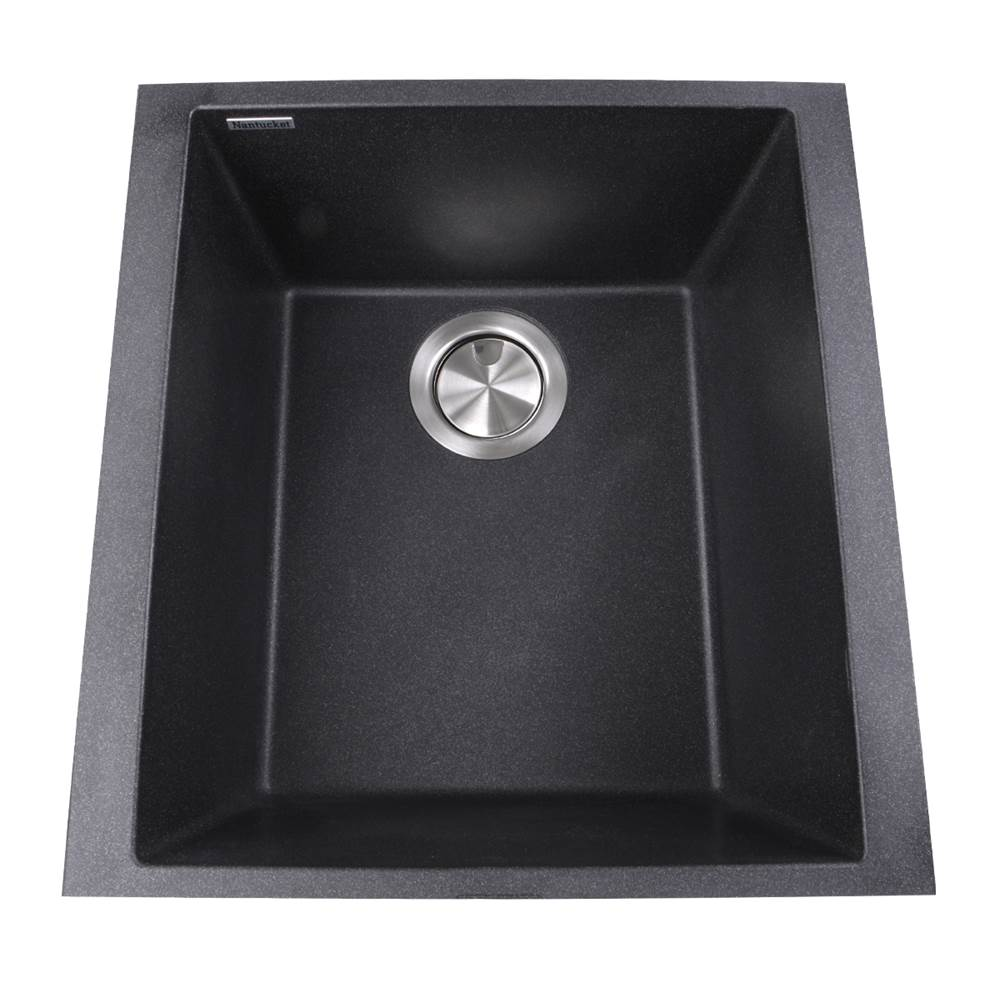 Nantucket Sinks Undermount Bar Sinks item PR1716-BL