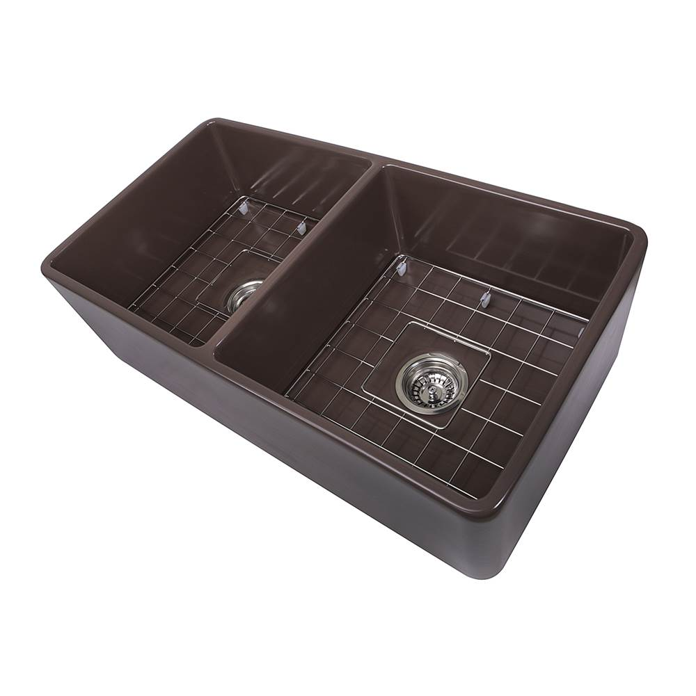 Nantucket Sinks Undermount Kitchen Sinks item T-FCFS33CB-DBL