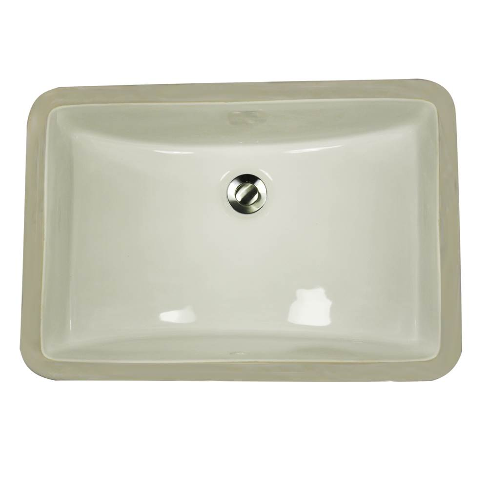 Nantucket Sinks Undermount Bathroom Sinks item UM-18x12-B