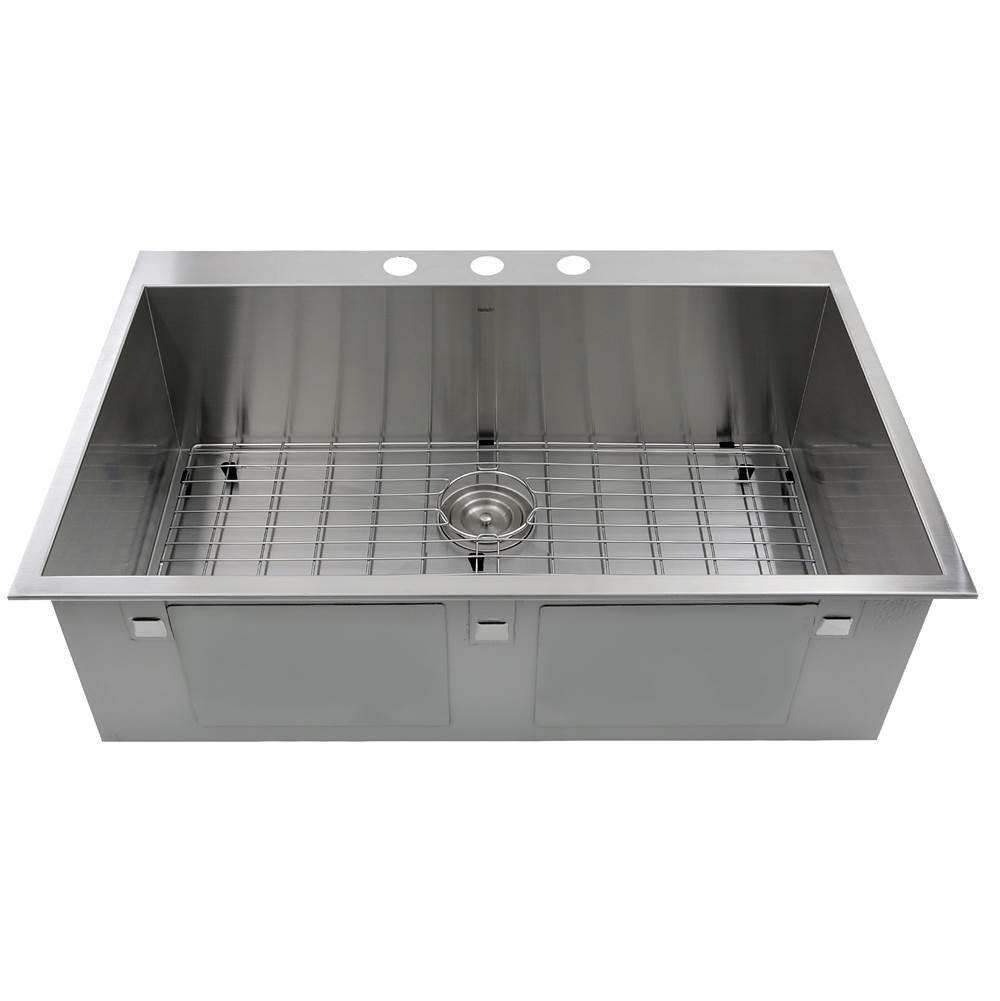 Nantucket Sinks Drop In Kitchen Sinks item ZR3322-16