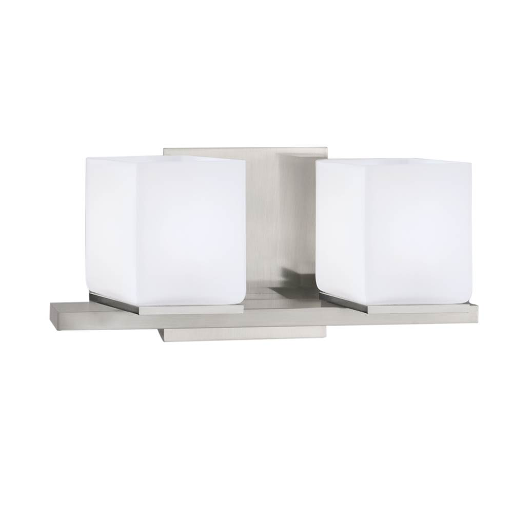 Norwell Two Light Vanity Bathroom Lights item 5312-BN-MO