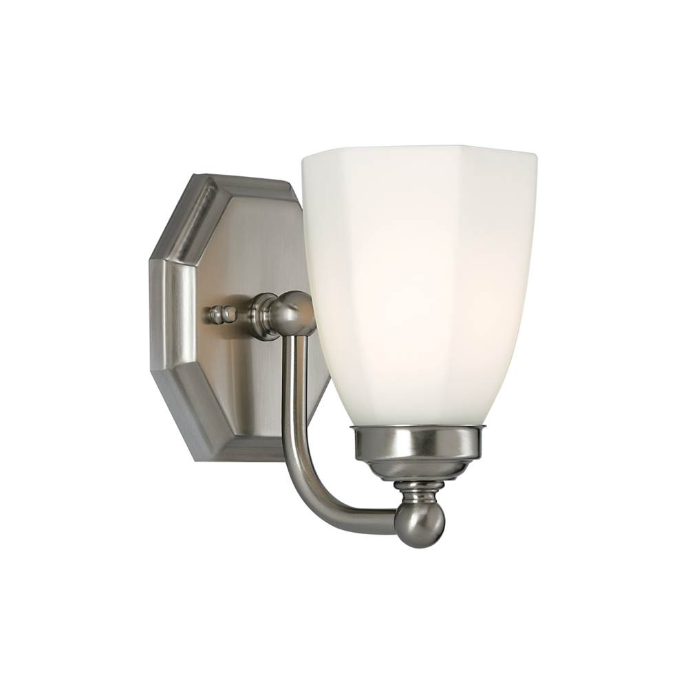 Norwell One Light Vanity Bathroom Lights item 8318-CH-DO