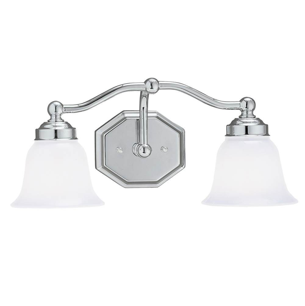 Norwell Two Light Vanity Bathroom Lights item 8319-CH-DO