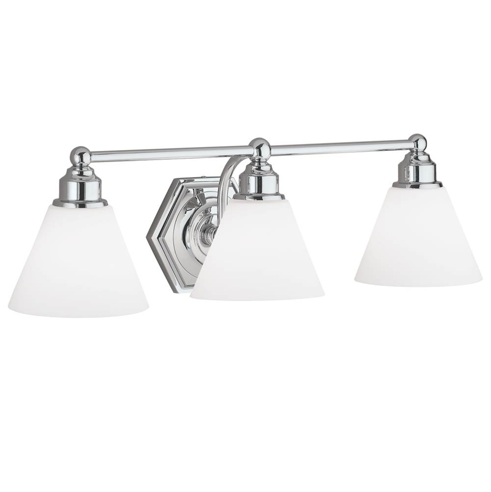 Norwell Three Light Vanity Bathroom Lights item 8533-BN-OP