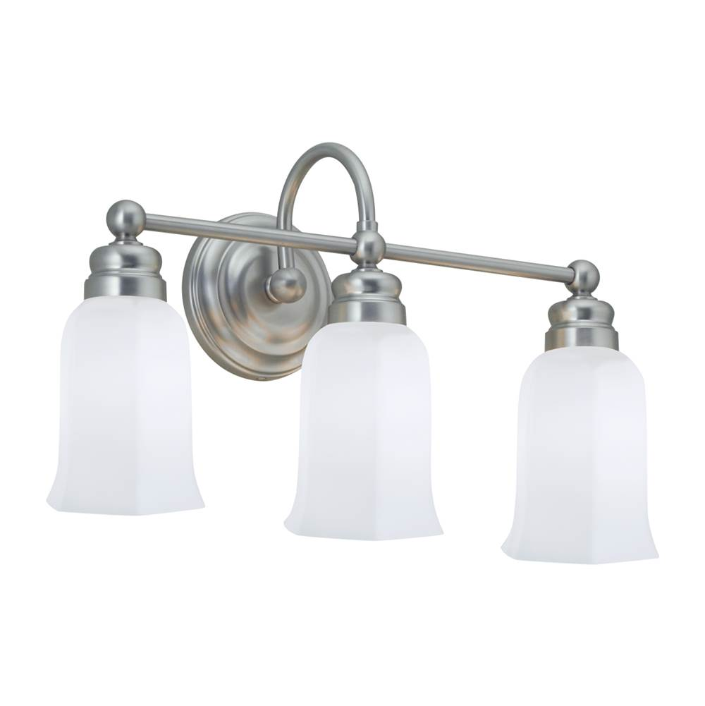 Norwell Three Light Vanity Bathroom Lights item 8913-CH-HXO