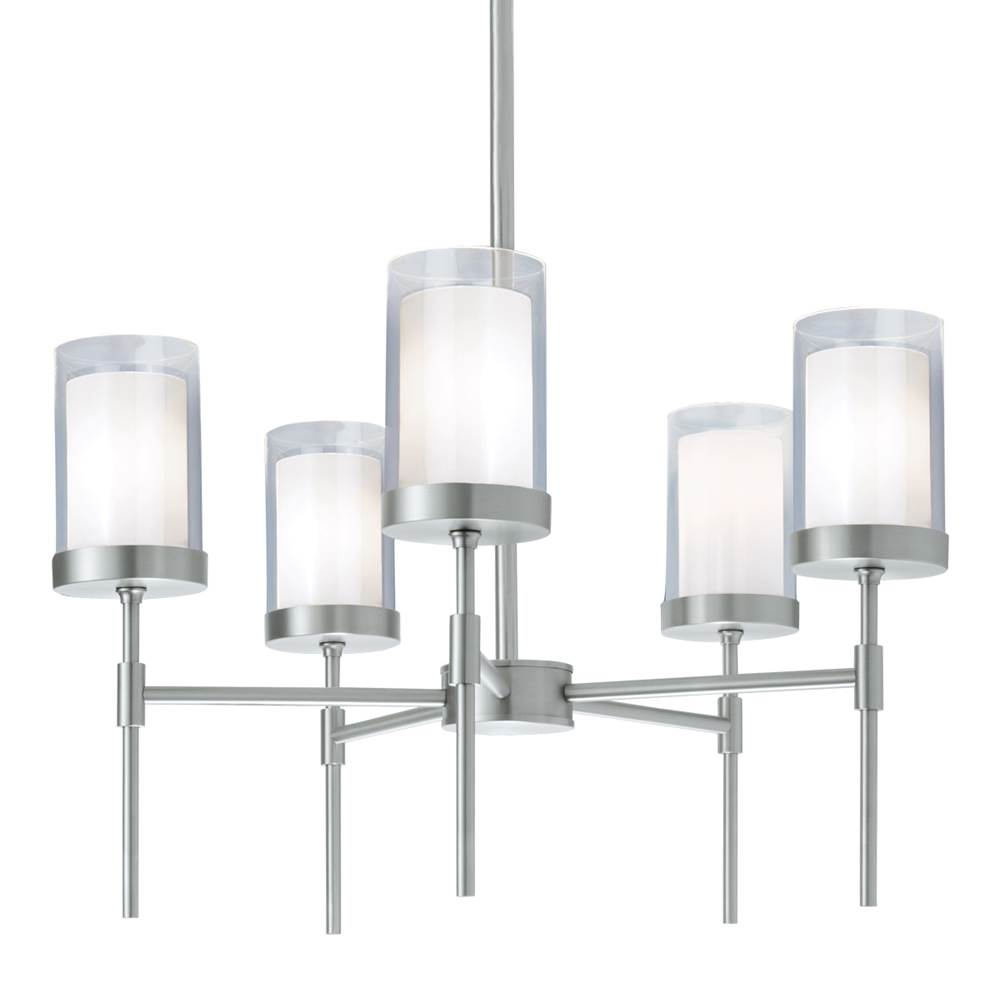 Norwell Single Tier Chandeliers item 8971-BN-CL