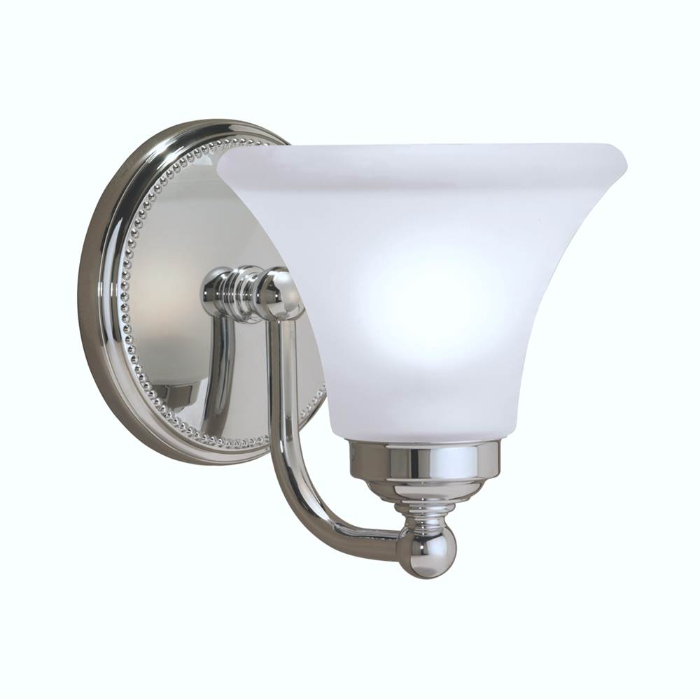 Norwell One Light Vanity Bathroom Lights item 9661-BN-FL