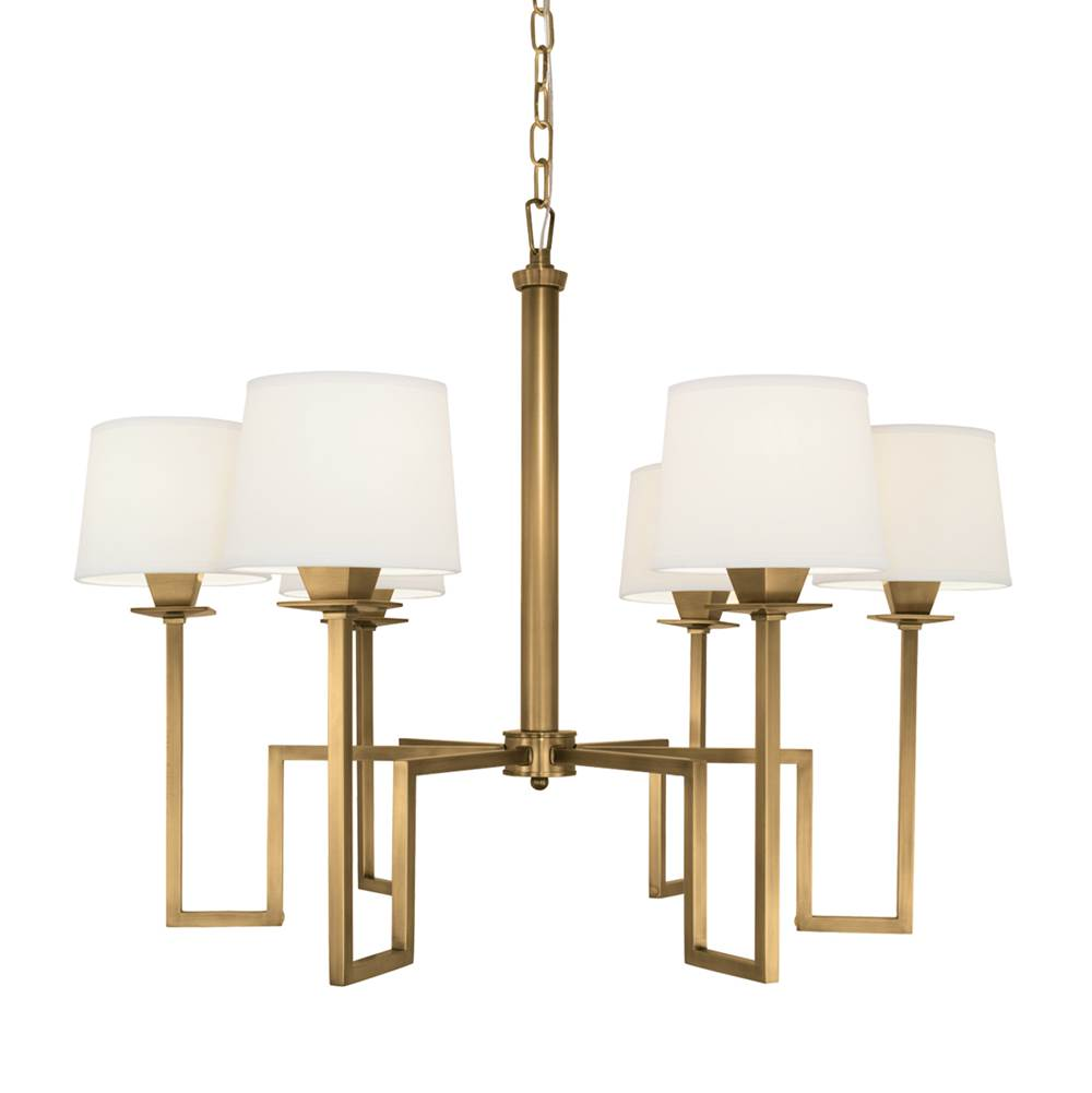 Norwell Single Tier Chandeliers item 9676-AG-WS