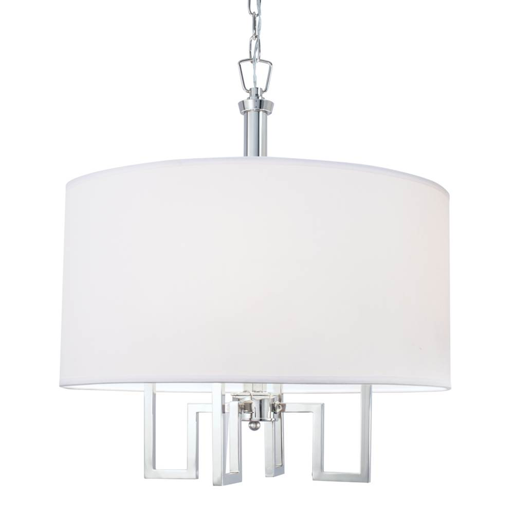 Norwell Single Tier Chandeliers item 9677-PN-WS