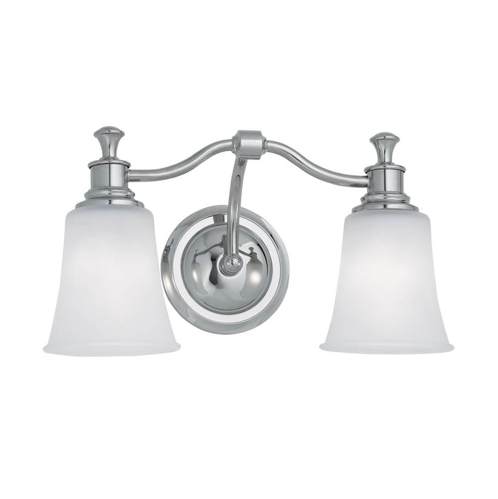Norwell Two Light Vanity Bathroom Lights item 9722-CH-FR