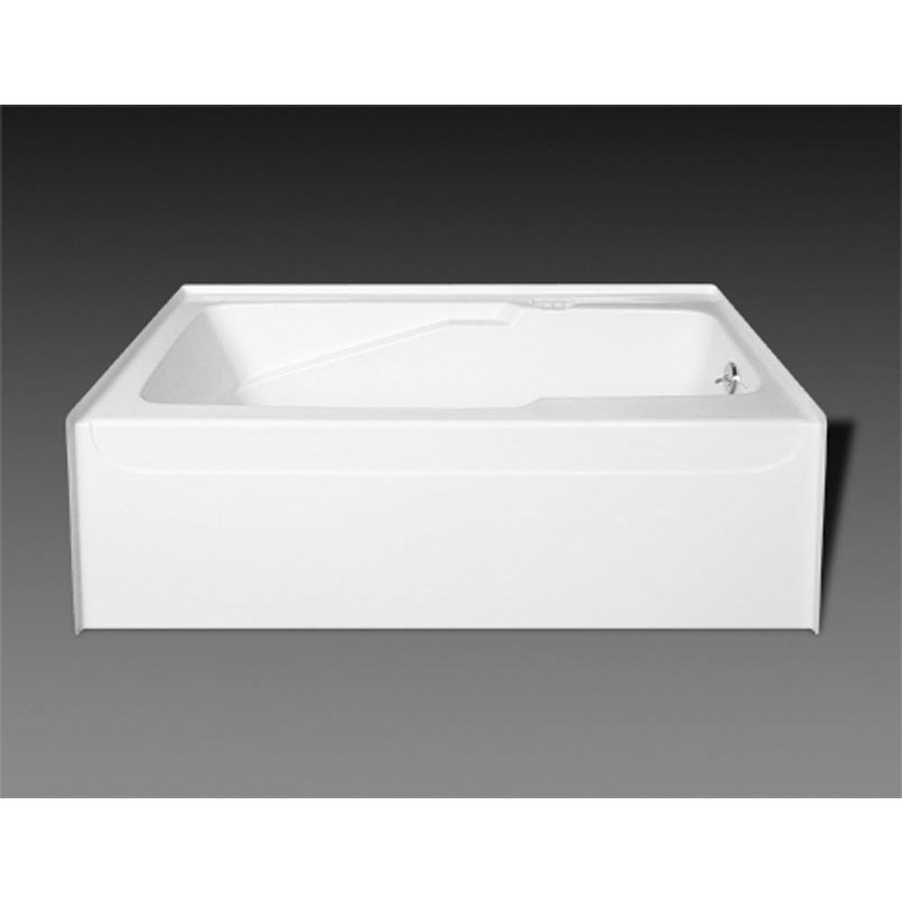 Oasis Three Wall Alcove Soaking Tubs item BA-R-51R BON ABF