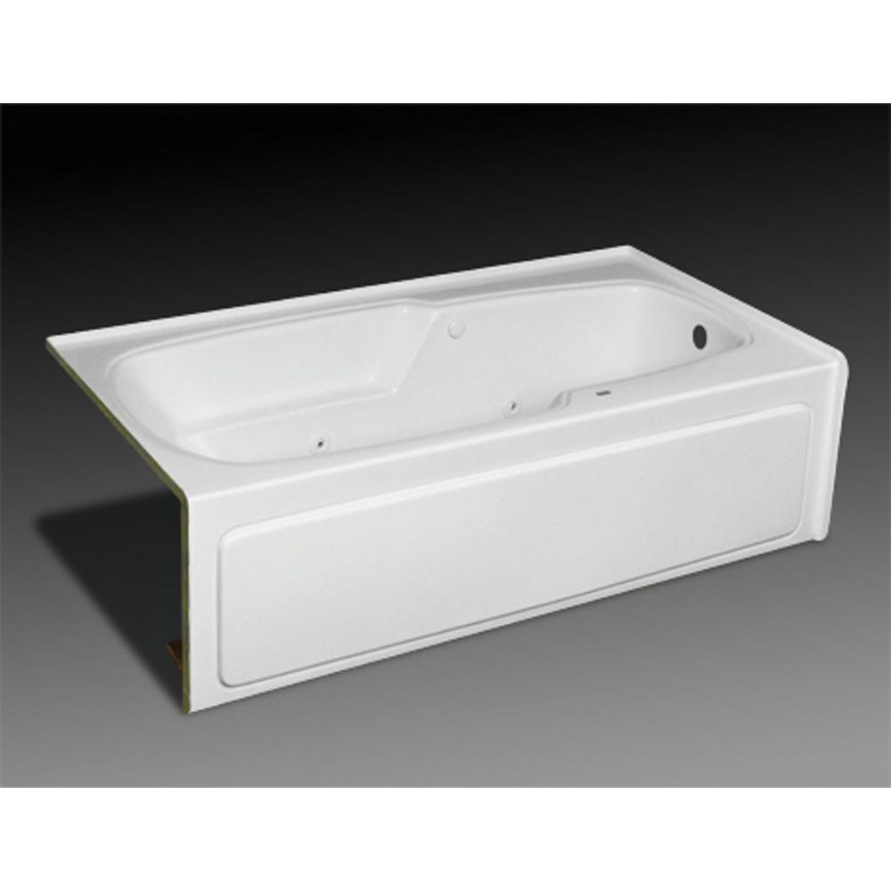 Oasis Three Wall Alcove Soaking Tubs item TR-IF-220L BON/CWS SNK