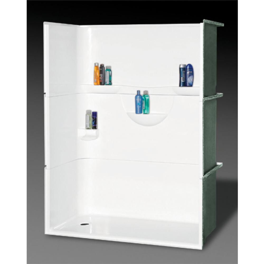 Oasis Alcove Shower Enclosures item SH3P-MD-6032L BSC
