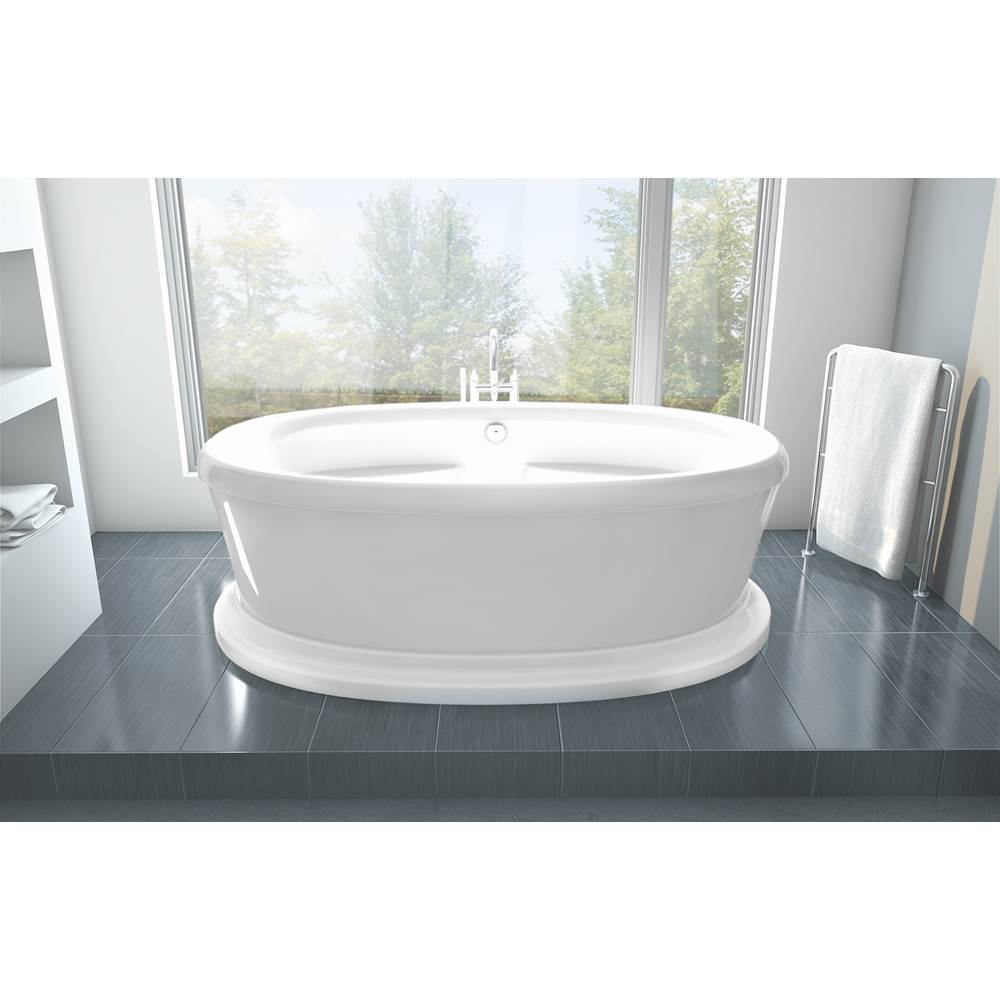 Oceania Baths Free Standing Air Bathtubs item LE42PDAM01