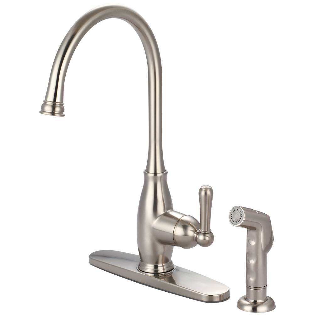 Olympia Deck Mount Kitchen Faucets item K-5441-BN