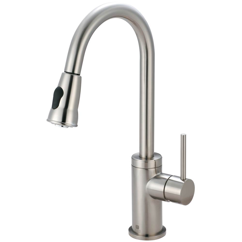 Pioneer Single Hole Kitchen Faucets item 2MT250-BN