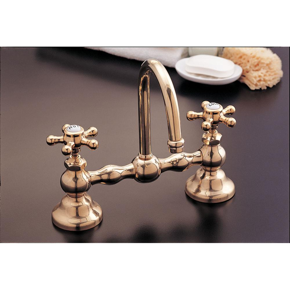 Strom Living Bridge Bathroom Sink Faucets item P0558-8S