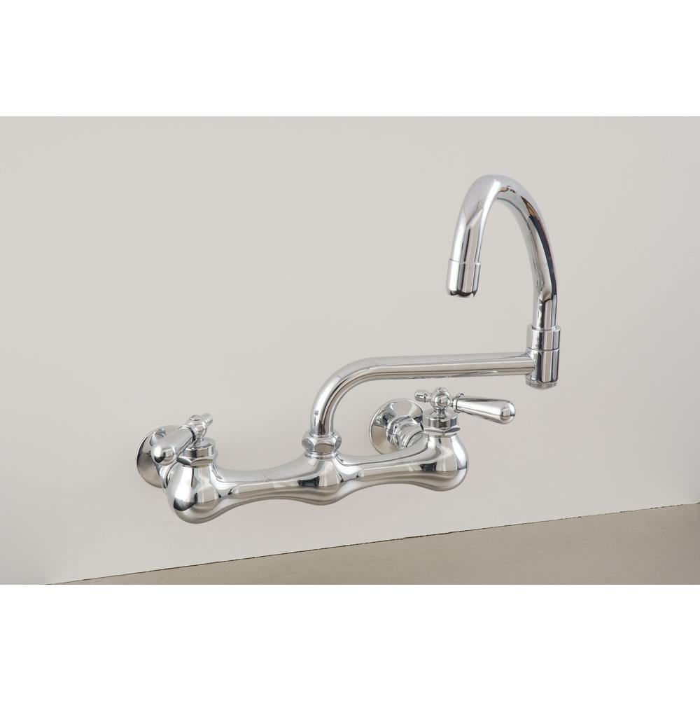 Sign Of The Crab Wall Mount Kitchen Faucets item P0830M